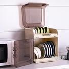 餐具架碗櫃家用簡易櫥櫃多功能廚房碗盤置物架簡約碗碟碗筷收納盒xw