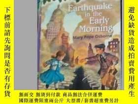 二手書博民逛書店(MAGIC罕見TREE HOUSE#24)Earthquake