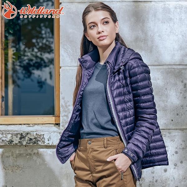 WildLand荒野 0A62105女700FP時尚輕量羽絨外套(S~2L) / 城市綠洲 (保暖外套、防風、輕羽絨)