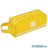文具盒 大容量筆袋簡約女日系ins潮初中生高中生韓版可愛少女鉛筆文具盒 快速出貨