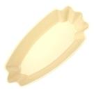 金時代書香咖啡 CafeDe Tiamo 陶瓷三角形生豆盤 - 米黃色 HG9282