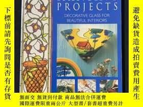 二手書博民逛書店Glass罕見Painting Projects: Decorative Glass for Beautiful