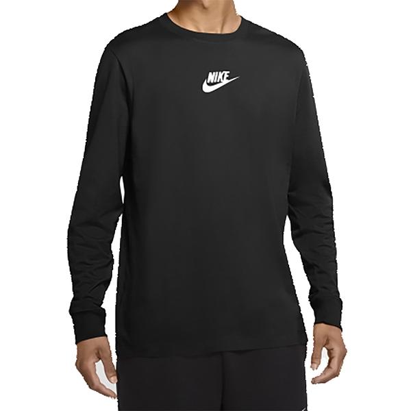 NIKE SPORTSWEAR JDI 男長袖上衣 採用舒適棉質製成 胸前綴以小標誌 黑 CU7391010