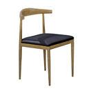 【森可家居】漢斯木紋牛角餐椅 7JF48...