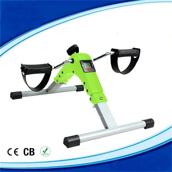 健身車 迷你健身車老年腿部訓練器帶表腳踏車美腿機踏步機折疊踏步機