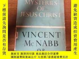 二手書博民逛書店《SOME罕見MYSTERIES OF JESUS CHRIST》Y12153