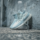 IMPACT Adidas Yeezy Boost 350 V2 Cloud White 雲白 冰藍 白雲 FW3043