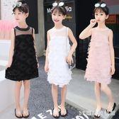 女童洋裝 2019夏裝新款無袖兒童裝女大童超洋氣裙子小女孩公主裙LB20094【3C環球數位館】