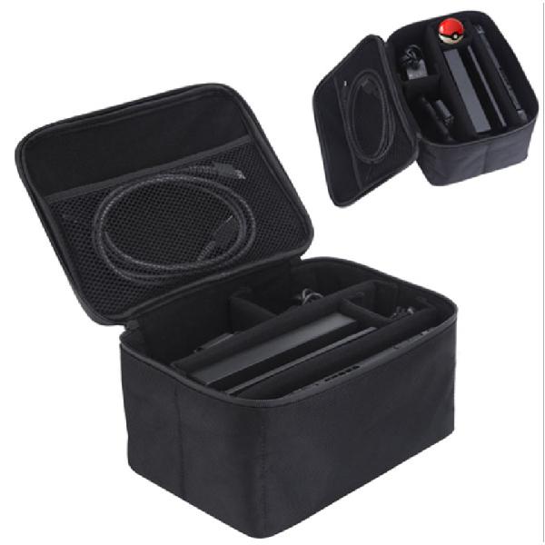 Switch 主機 收納盒 收納包 大容量 手提收納包 收納袋 任天堂 NS 遊戲機 主機收納 搖桿 充電器 收納