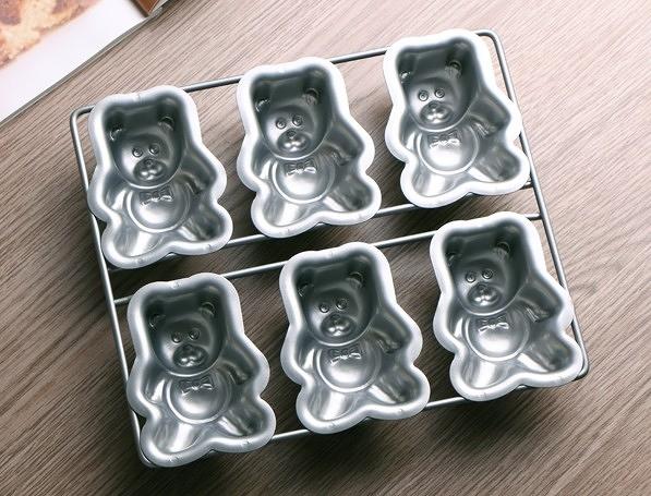 【協貿國際】小熊蛋糕模具