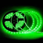 5050 300燈白底扁條燈 5M(綠) (防水型)