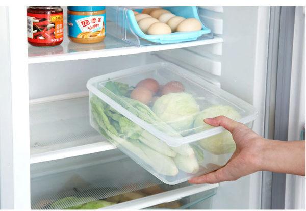 Qmishop 速凍餃子盒 冰箱保鮮收納盒凍餃子三層保鮮盒 【J2138】