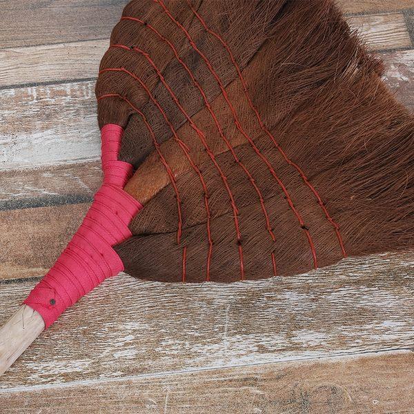 棕掃把笤帚棕毛條掃掃帚鬃毛掃地條掃帚粽帚掃帚戶外廣場長柄IGO 初语生活馆