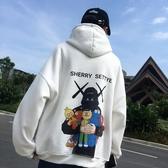 衛衣 秋季ins超火衛衣連帽男寬鬆韓版bf風情侶潮牌學生嘻哈外套上衣服