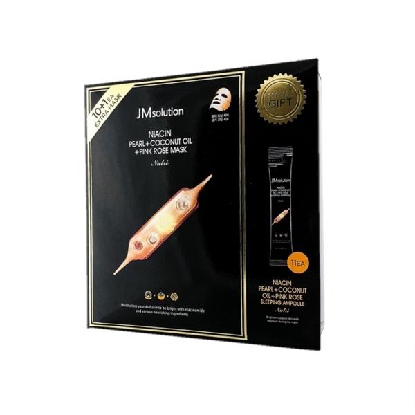 JMsolution珍珠玫瑰面膜&晚安面膜禮盒組(橘色款)