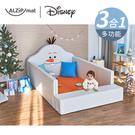 ALZiPmat & DISNEY 迪士尼 輕傢俬系列輕傢俬系列 多功能圍欄地墊/沙發床-雪寶