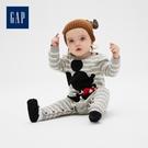 Gap嬰兒迪士尼織紋爬服524313-淺麻灰