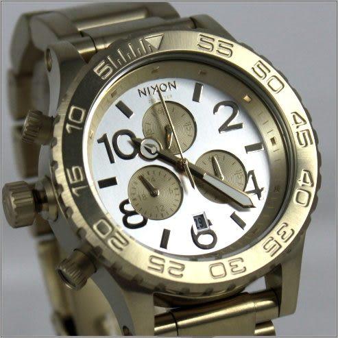 【萬年鐘錶】NIXON 美國加州 42-20 Chrono A0371219
