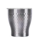 金時代書香咖啡 Tiamo 真空錘紋陶瓷杯 230ml 不銹鋼 HE5164SL