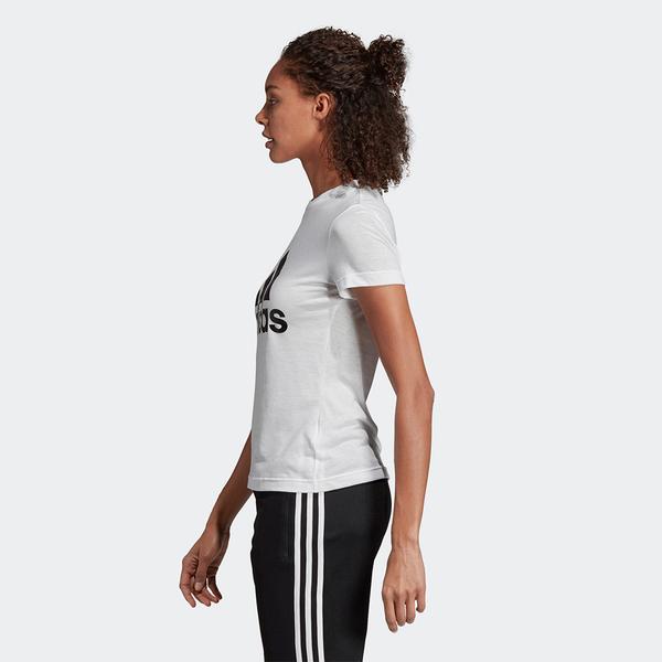 【現貨】Adidas MH BOS TEE 女裝 上衣 短袖 休閒 白【運動世界】DZ0013