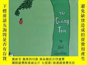 二手書博民逛書店the罕見giving tree by shel Silverstein 兒童讀物 英文版Y42402