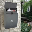 信箱 意見箱 信箱郵箱歐式別墅室外掛牆帶鎖304不鏽鋼大號建議意見箱信報箱T
