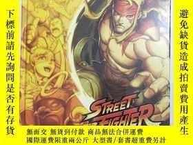 全新書博民逛書店STREETFIGHTER UNLIMITED 2 THE GATHERING 街頭霸王無限2融合 英文原版 精裝