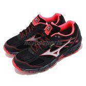 【六折特賣】Mizuno 慢跑鞋 Wave Kien 3 G-TX W 黑 桃紅 銀 女鞋 耐磨防滑 運動鞋 【PUMP306】 J1GK1659-03