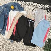 夏季短褲男正韓褲子五分夏天休閒沙灘褲寬鬆工裝速干男運動 萬聖節
