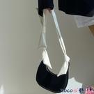 熱賣腋下包 鹿子 小眾設計女包2021韓版新款可愛蝴蝶結側背小包包手提腋下包 coco