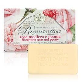 『Nesti Dante』義大利手工皂-佛羅倫斯玫瑰和牡丹 250g× 漾小鋪 ×