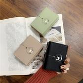 錢包女短款韓版簡約學生小錢夾新款可愛小清新迷你零錢包卡包 伊羅 新品