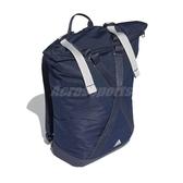 adidas 後背包 Z.N.E. ID Backpack 藍 白 大容量 運動休閒 【PUMP306】 DT5083