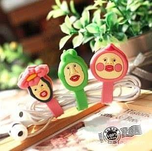 【發現。好貨】日本kobito-dukan 農場精靈屁桃 醜比捲線器 收線器