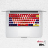 MacBook鍵盤貼膜蘋果筆電電腦鍵盤膜貼紙【步行者戶外生活館】