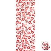 【日本製】【和布華】 日本製 注染拭手巾 紅色 小牽牛花圖案 SD-5133 - 和布華