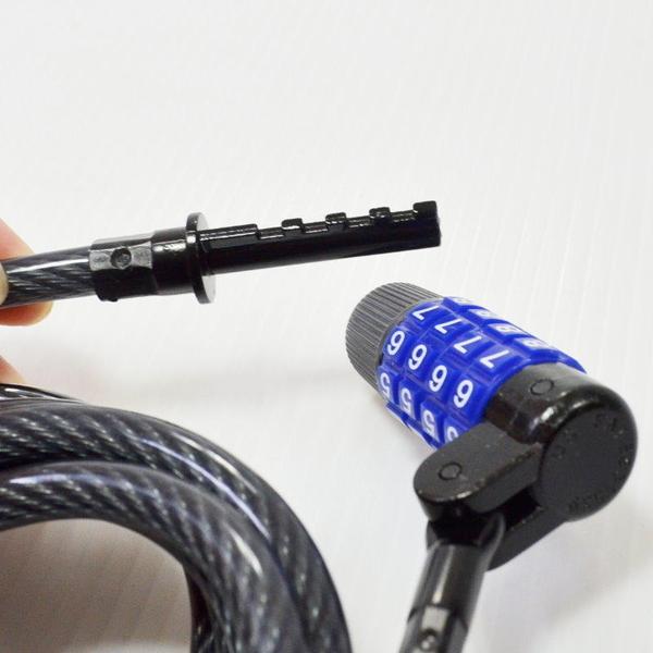 【GF280】可調整密碼鎖T904(台灣製) 機車鎖180cm 腳踏車鎖 可自設密碼 鋼索 單車鎖 EZGO商城