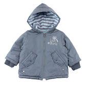 【愛的世界】刷毛連帽外套/1~4歲-台灣製- ★秋冬外套