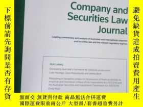 二手書博民逛書店Company罕見and Securities Law Jour