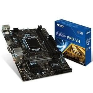 【台中平價鋪】全新 微星B250M PRO-VH Intel 1151主機板