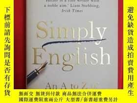 二手書博民逛書店Simply罕見English: An A-Z of Avoid