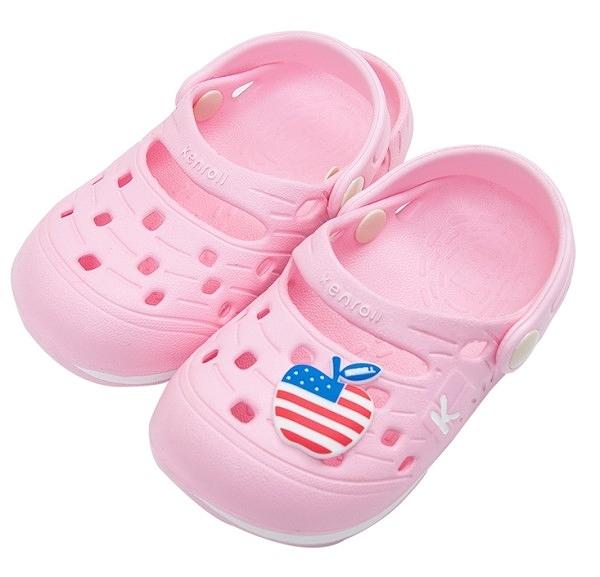 (e鞋院)KENROLL兒童防滑布希鞋(買一雙就送一雙珊瑚絨暖冬保暖襪子(隨機出貨)