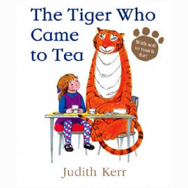 【麥克書店】】THE TIGER WHO CAME TO TEA /英文繪本《主題:分享.床邊故事》