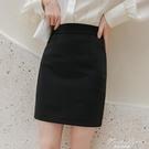 春夏職業裙半身裙女一步裙包臀短裙包裙西裝裙工作裙西裙正裝裙子 果果輕時尚