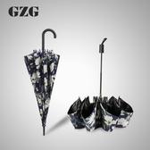 雨傘折疊女晴雨兩用韓版小清新黑膠遮陽太陽傘