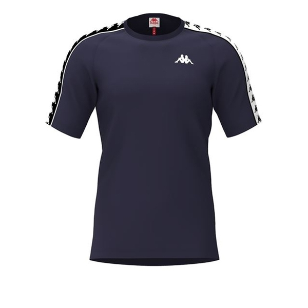 KAPPA義大利 時尚型男BANDA222短袖衫 丈青 30300U0A58