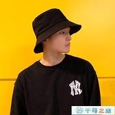 漁夫帽男士帽子秋冬季韓版日系遮陽帽防曬大頭圍【千尋之旅】