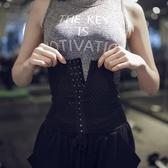 健身新款薄款塑身衣腰封女運動束腰帶健身收腹帶收腹束腰夾瘦腰帶 韓小姐的衣櫥