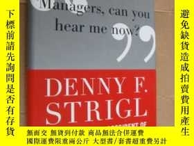 二手書博民逛書店MANAGERS,罕見CAN YOU HEAR ME NOW?: