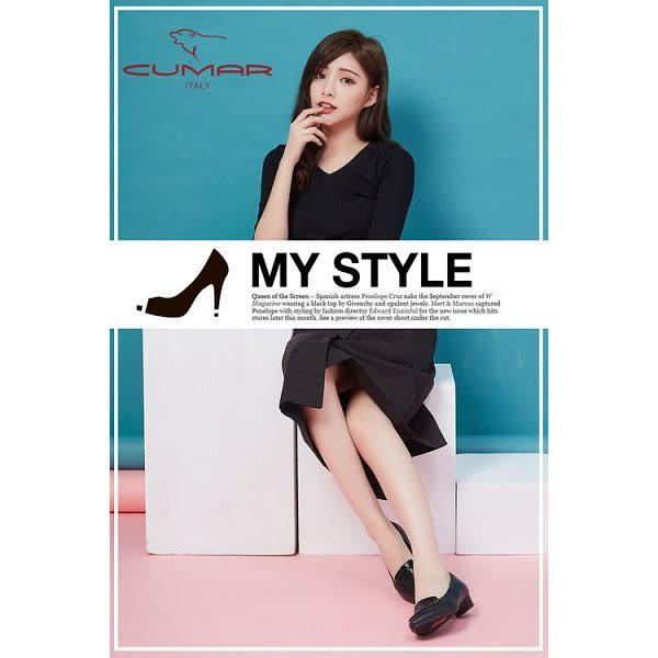 ★新品上市★【CUMAR】流行品味 時尚設計真皮樂福鞋(黑色)